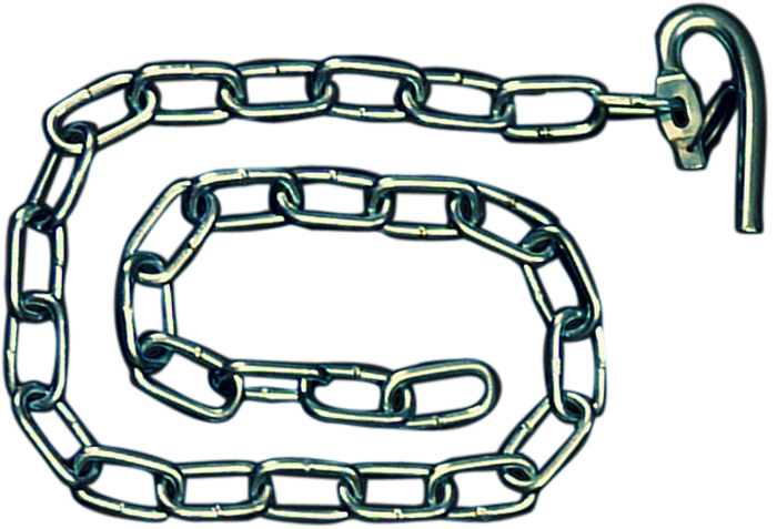 Hook Spring Loaded Large 1M Chain